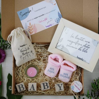 HappilyBox - Box annonce naissance fille